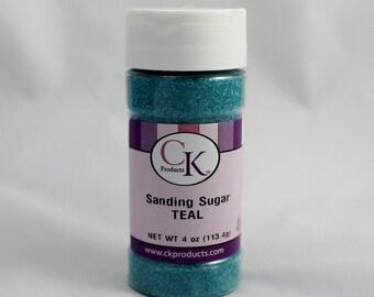 Teal Sanding Sugar