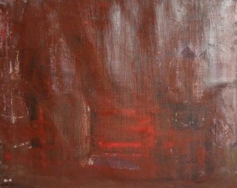 European abstract expressionism oil painting