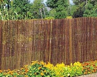 Willow Fence Screen, 6'H x 8'L, WF-68