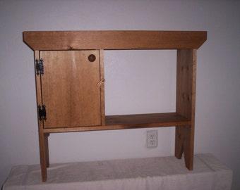 Window Cabinet with Door