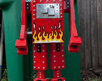 Firebug the Robot