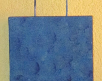 """All about Blue (8 x 24 """")"""