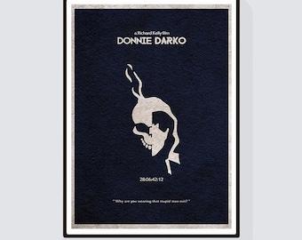 Donnie Darko Minimalist Alternative Movie Print & Poster