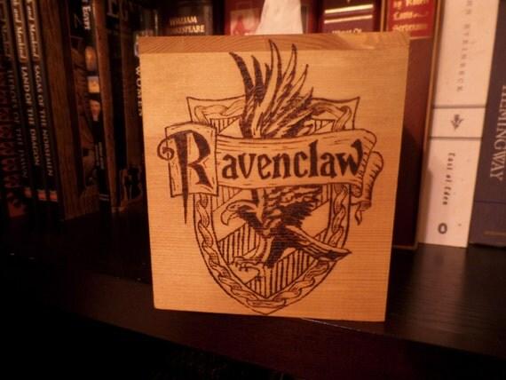 Items Similar To Hogwarts House Crest Tissue Box Harry