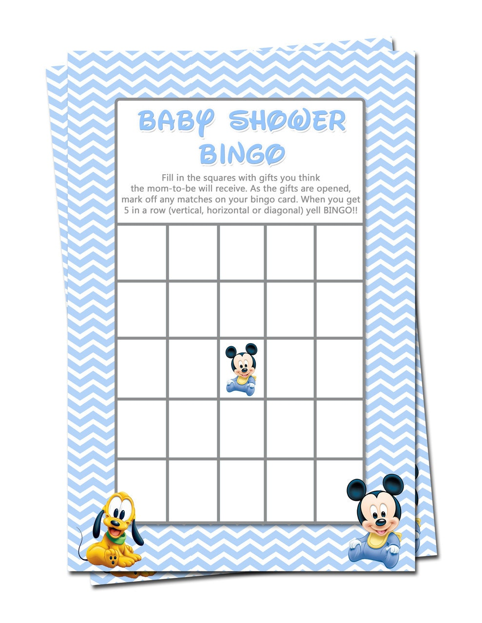 baby mickey mouse baby shower games bingo by xochitlmontana