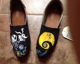 Toms Shoes Customized Nightmare Before Christmas