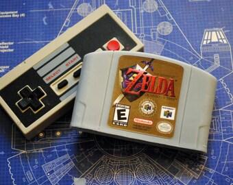 N64 Zelda Cart parody Soap: Retro and geeky! Handmade cartridge soap - Zelda, Link, Cart