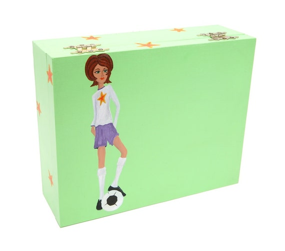 football girl box