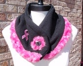 breast cancer awareness neck warmer