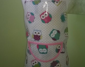 Wipeable PVC aprons in fabulous prints