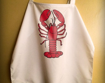 Lobster Bib - Breastfeeding Cover