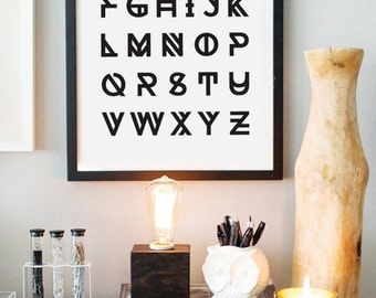 Amazing Alphabets Curated By Buy Modern Baby On Etsy