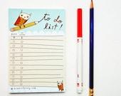 TODAY To Do List Planner, school supplies, Office Desk Accessories, Desk Planner Stationery, office planner, student planner school planner