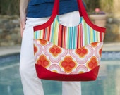 Smile and Wave Tote Bag PDF Sewing Pattern