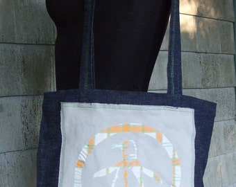 Preppy Penguin Tote Bag