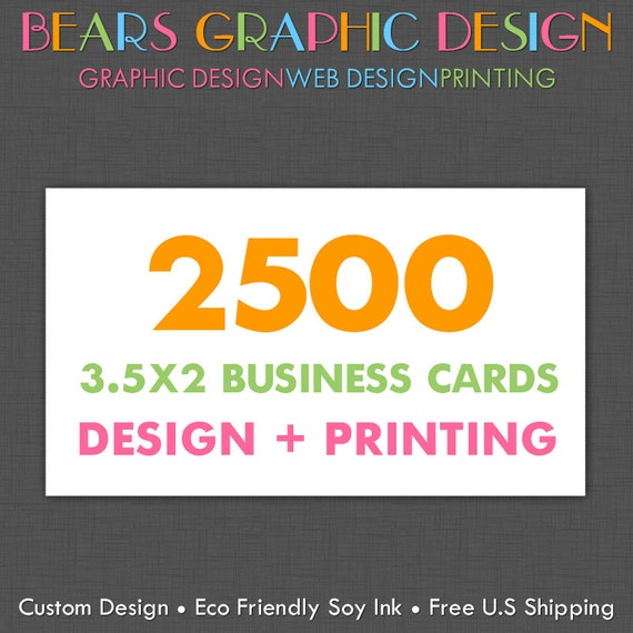 Custom Business Cards Personalized Business Card Design and