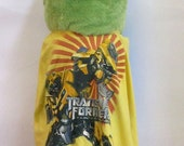 Cape or Apron: Transformers Handmade by Fashion Green T Bags