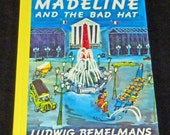 Madeline and the Bad Hat  children's vintage book 1992 classic story book. mint condition