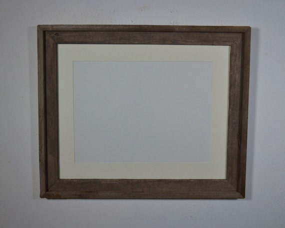 16x20 Eco Friendly Picture Frame With Mat For 11x14 Or 11x17
