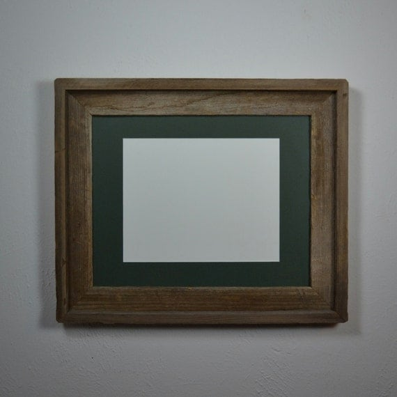 Rustic 11x14 Frame With Mat For 8x10 Or 8 1 2x11 Or 8x12