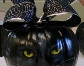 Halloween Pumpkin Cat Fall  Decoration