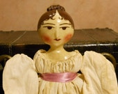 Customizable Regency Doll - 18 inch Doll with Curl Cluster Atop her Head