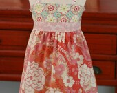 Evelyn.......Ellie....Halter Tunic .....3T.... Ready to Ship ....OOAK