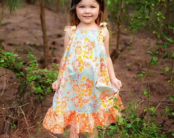 Fall Dress - Girls Maxi Dress
