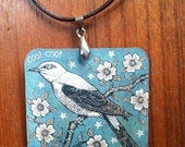 Cuckoo Bird necklace