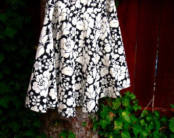 woman's, a line, FuLL CiRcLe Skirt, Calf Length, Custom Made in ALL lengths and sizes from petite to plus