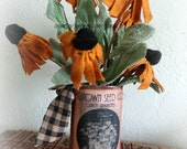 Simply Prim Black Eyed Susans floral arrangement