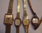 Vintage Watches Helbros Gruen Jewelry Supplies