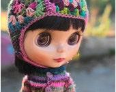 SALE! granny helmet hat for Blythe