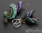 TUTORIAL Slugs in Love, Beaded Earrings and Pendants with Peyote Stitch