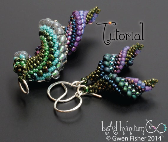 Tutorial slugs in love beaded earrings and pendants with tutorial slugs in love beaded earrings and pendants with peyote stitch aloadofball Gallery