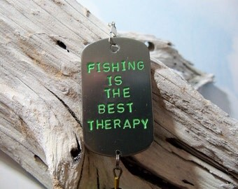 Personalized Mens Birthday Gift for Him Fishing Lure Gift for Boyfriend Gift For Husband Hand Stamped Fisherman's Gift for Men Gift for Dad