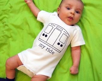 SALE  My Ride- Urban Baby snap bodysuit