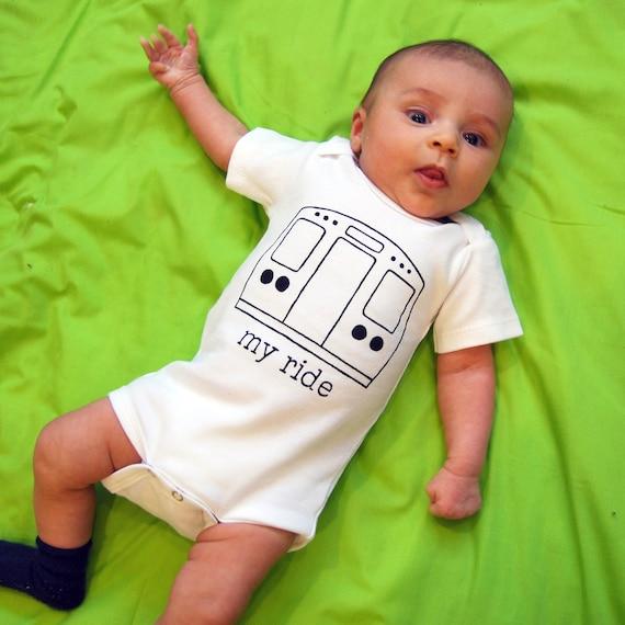 My Ride- Urban Baby snap bodysuit