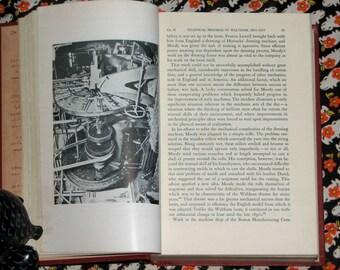 Antique 1950 The Saco-Lowell Shops thread mill machinery Harvard University Press business studies turn of the century history book ephemera