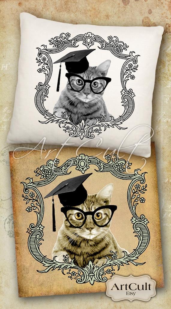 educated cat - photo #33