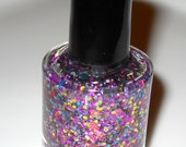 Kaleidoscope Glitter Nail Polish Topper