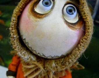 Custom Grimmy Halloween Clay art doll