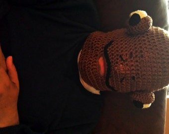 Admiral Ackbar Hat - It's a Mask!!  Perfect for the Star Wars fan in your life.  Cosplay. Comicon. Theme Party