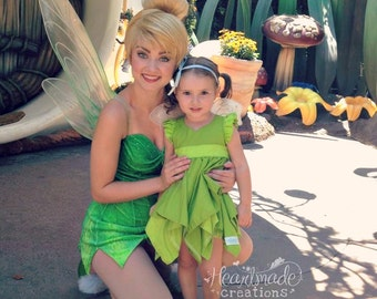 Tinkerbell - Character Inspired Dress - Neverland Collection - Sizes 12/18months through 5