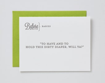 Before & After Babies - Diaper Card