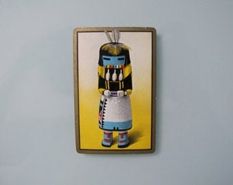 American Indian Kachina Vintage Playing Cards, Congress 1935 Deck of Cards