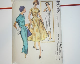 """McCalls 3963 pattern complete 33"""" bust"""