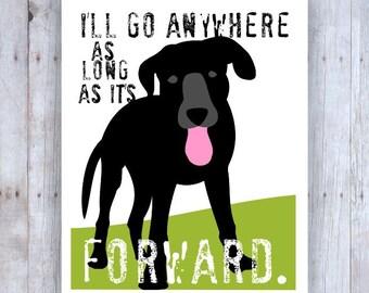 Black Lab Art, Labrador Retriever Art, Labrador Print, Lab Decor, Black Lab Art, Dog Art, Inspirational Art, Inspirational Print, Dog Lover