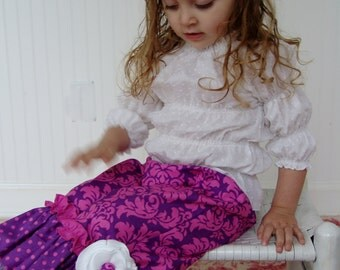 Boutique Custom Juvie Moon Designs PDF Download Ruffle Pants Pattern  BRAYDIN