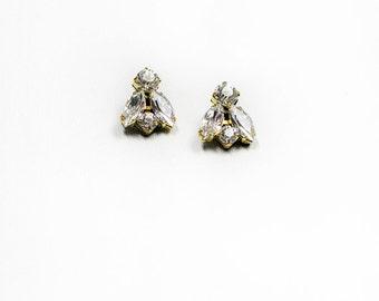 Small Fly Stud Earrings